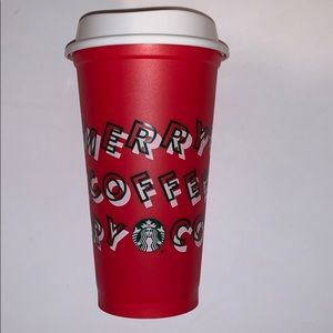Limited Edition Starbucks Holiday Reusable Cup